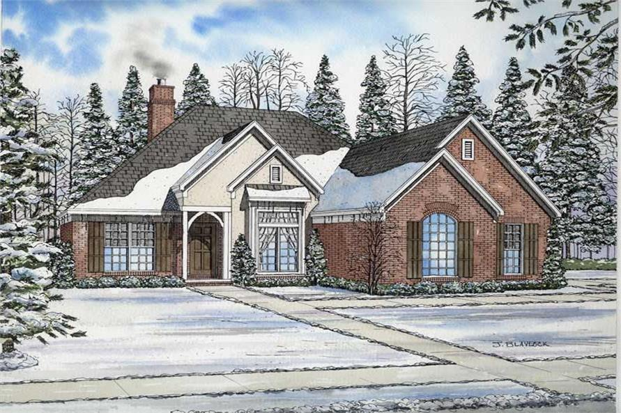 Main image for house plan # 9223