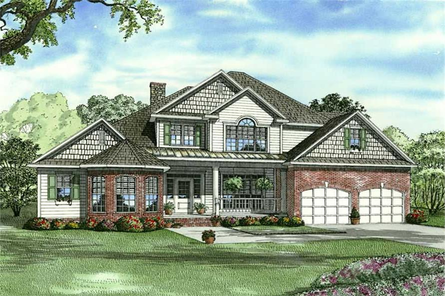 Main image for house plan # 9230