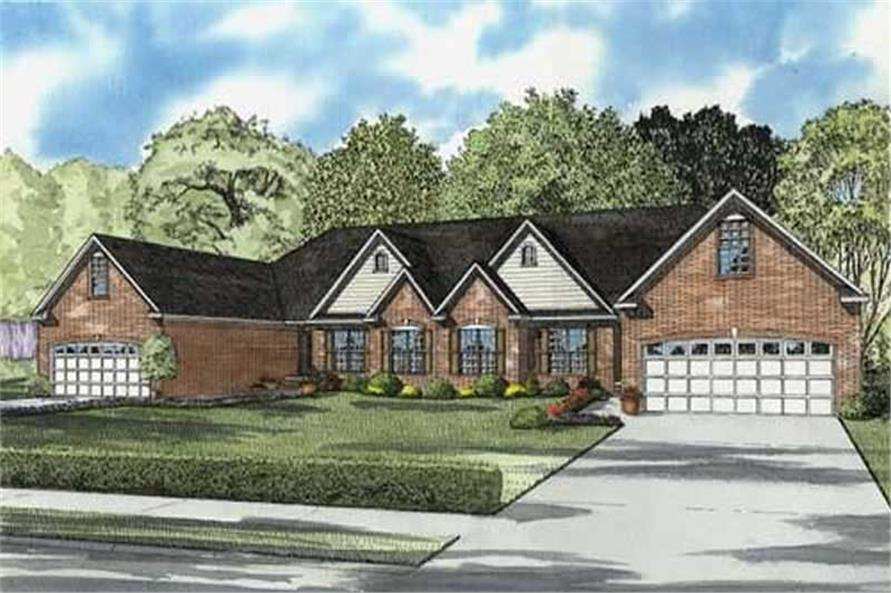 Main image for house plan # 17655