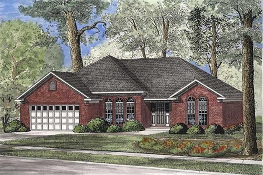 Main image for house plan # 17652
