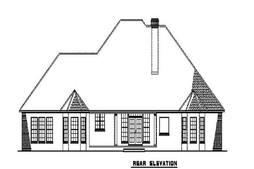 153-1806 rear elevation
