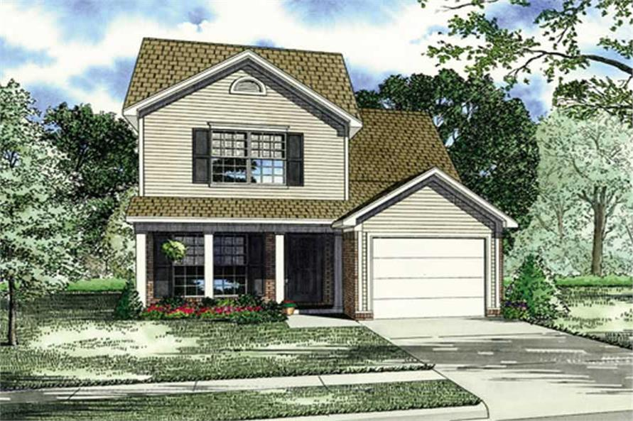 Main image for house plan # 17574