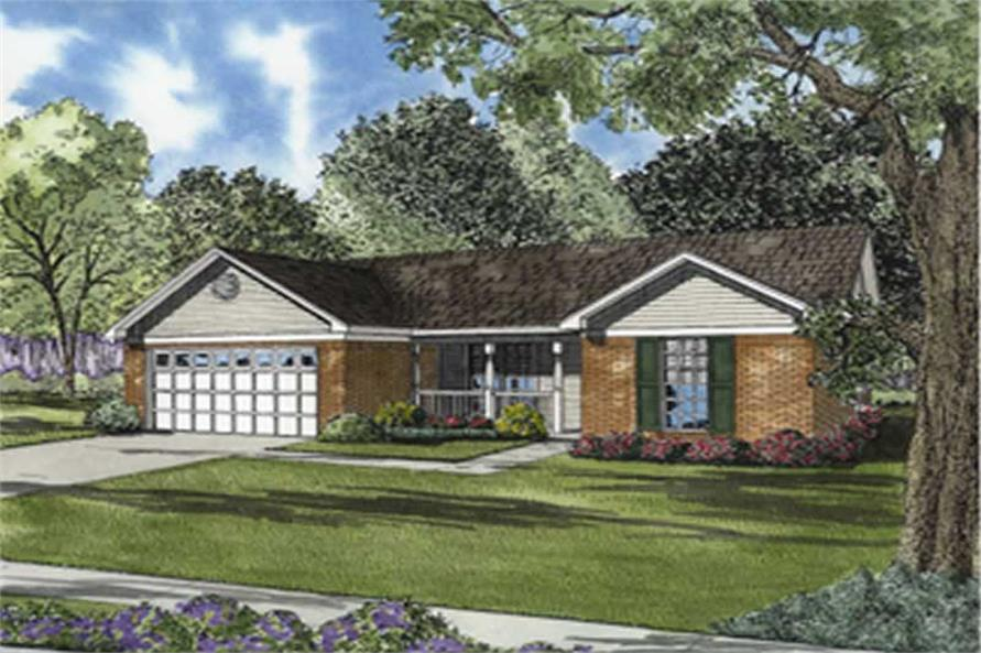 Main image for house plan # 7887