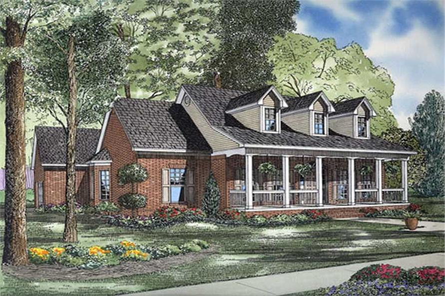 Main image for house plan # 9906