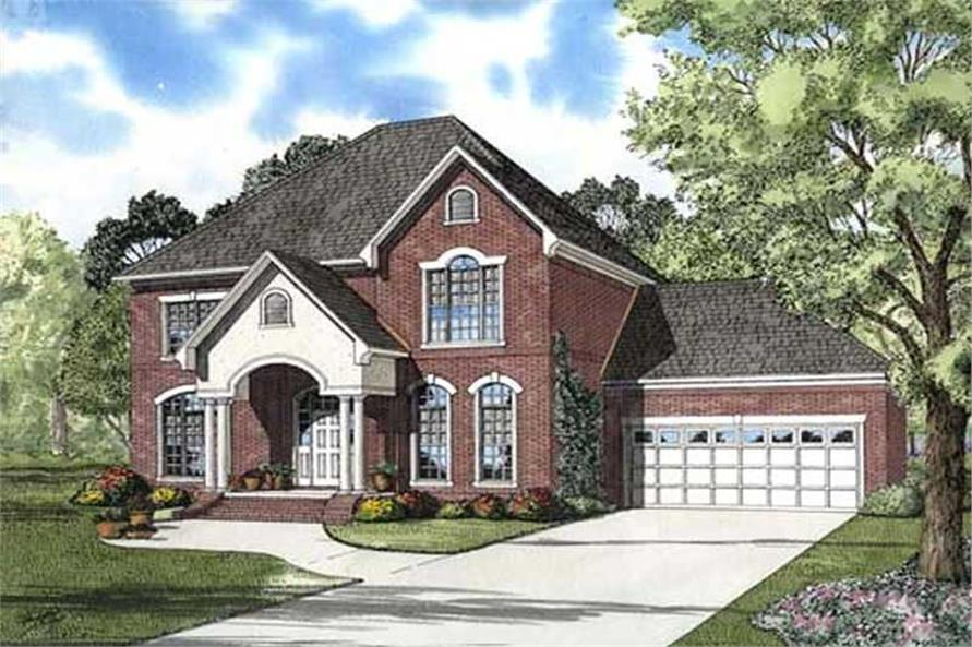 Main image for house plan # 9911
