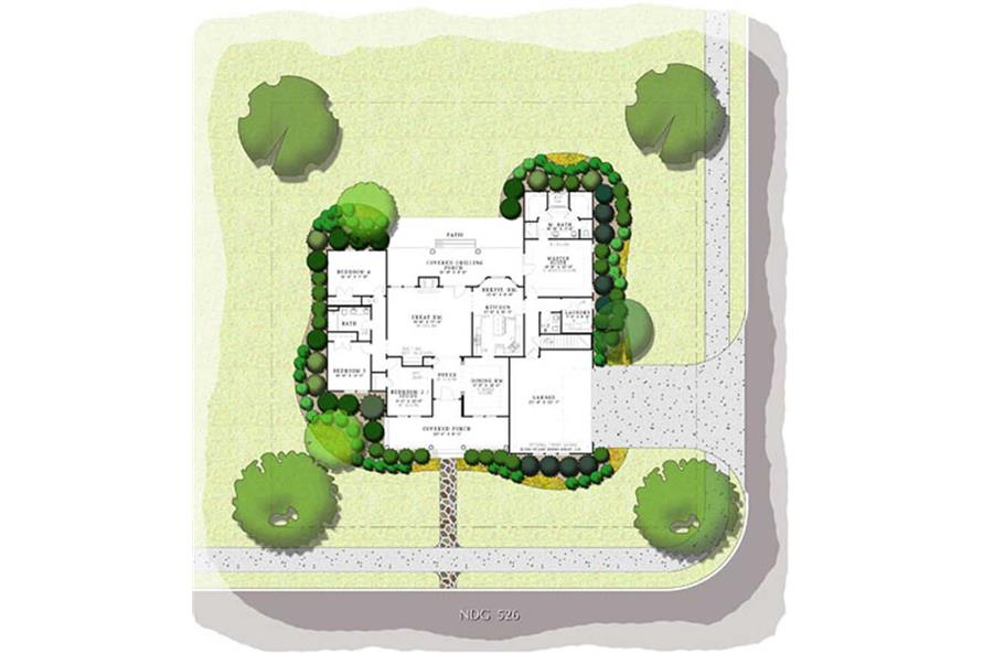 HOME PLAN NDG-526B