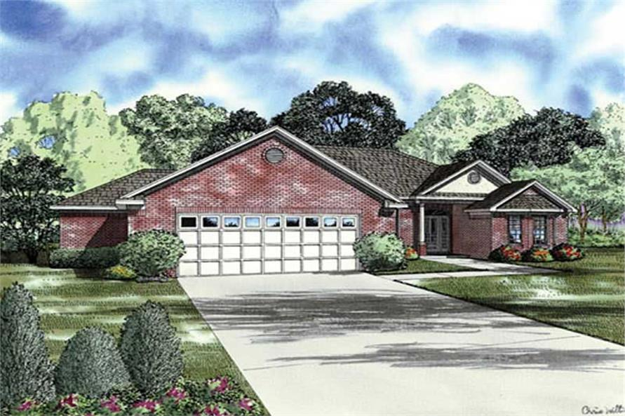 Main image for house plan # 9914