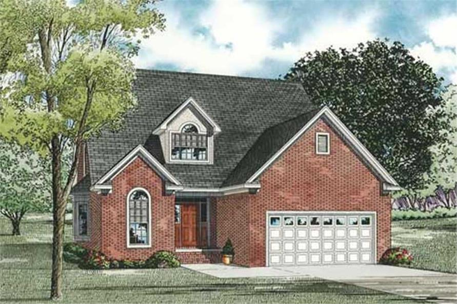 Main image for house plan # 17564