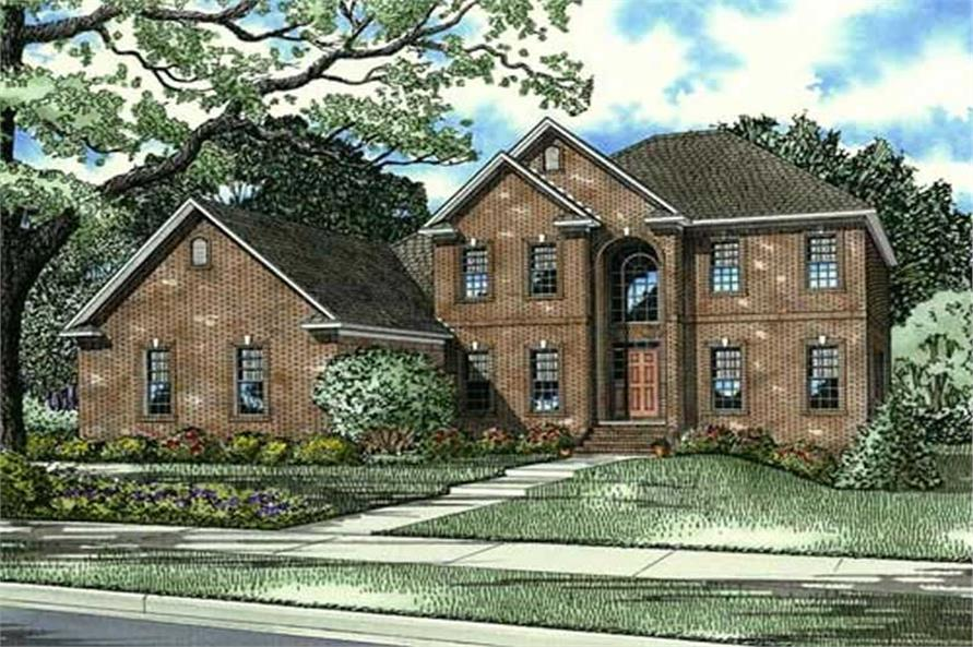 Main image for house plan # 17561