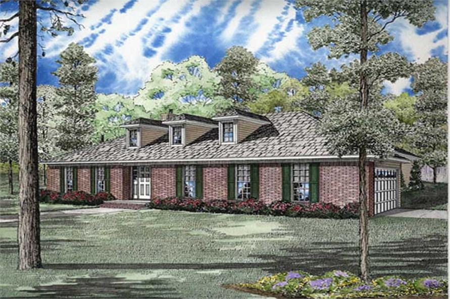 Main image for house plan # 9915