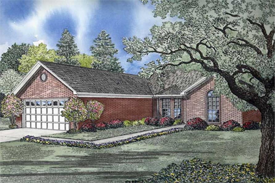 Main image for house plan # 9909