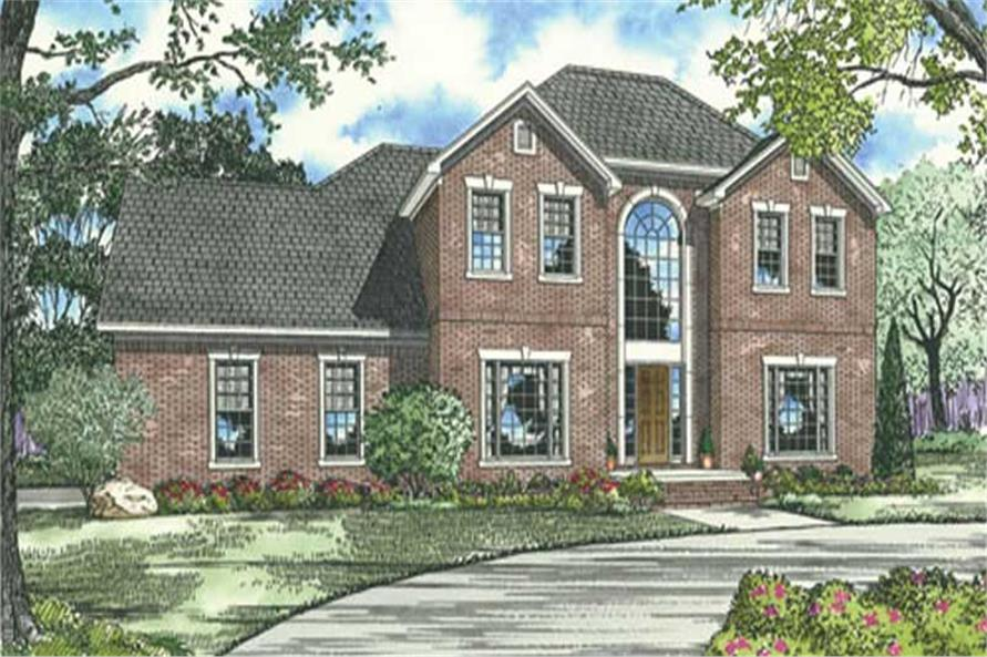 Main image for house plan # 17552