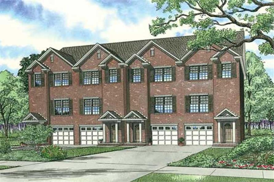 Main image for house plan # 17616