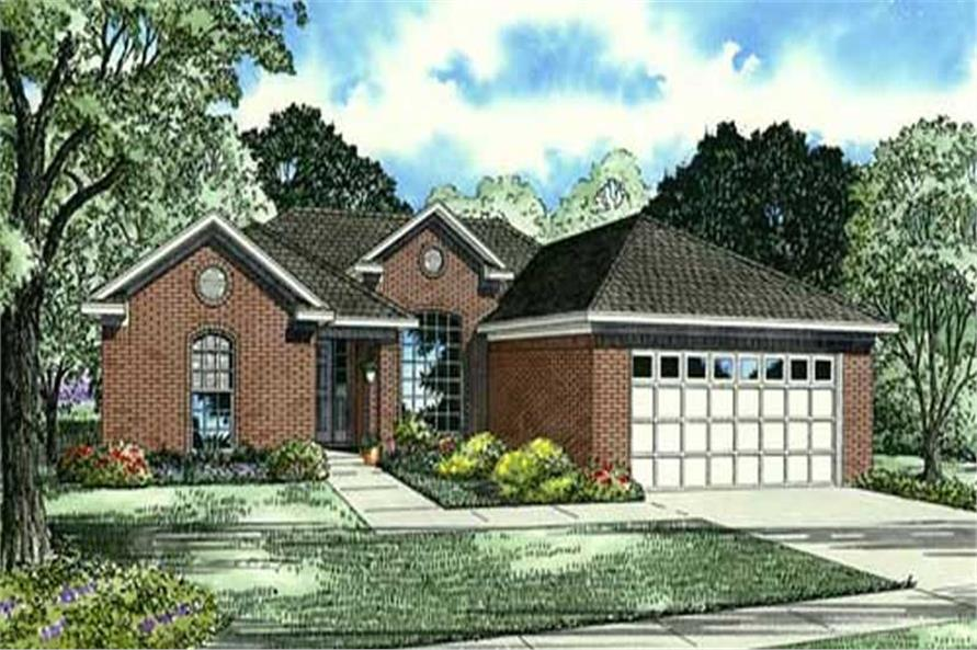Main image for house plan # 19445