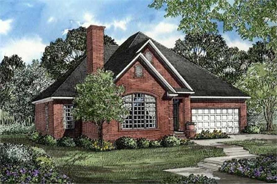 Main image for house plan # 17643