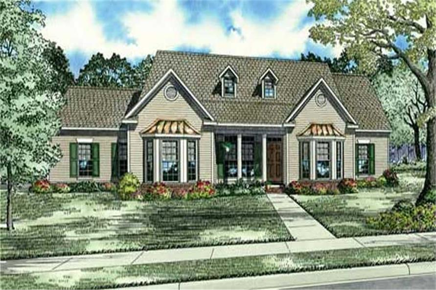 Main image for house plan # 17573