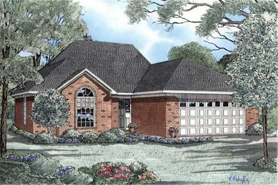 Main image for house plan # 17621