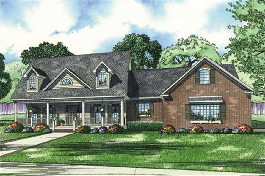 Main image for house plan # 17601