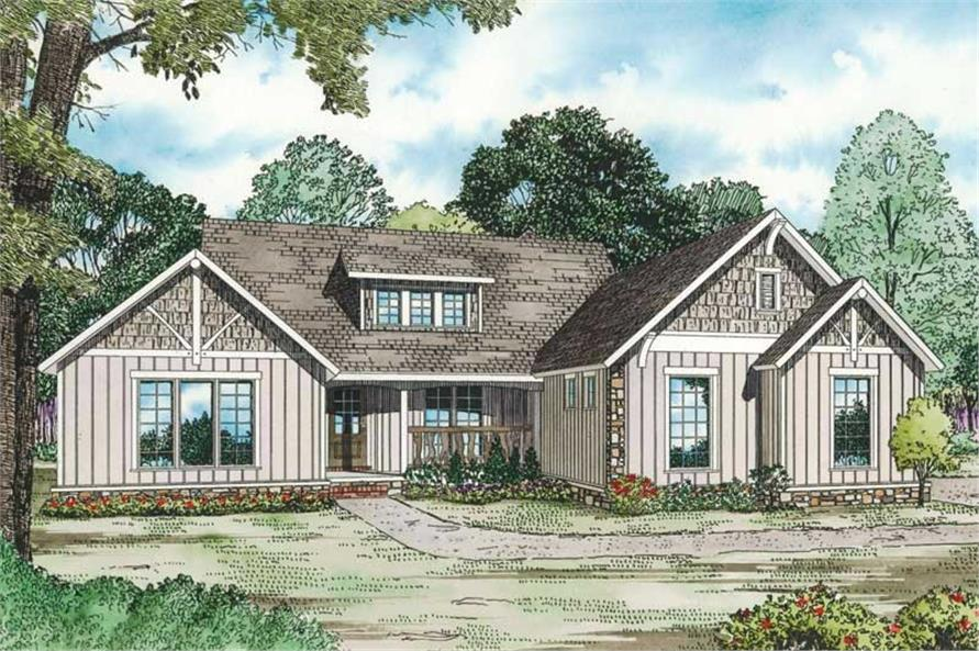 Main image for house plan # 19836
