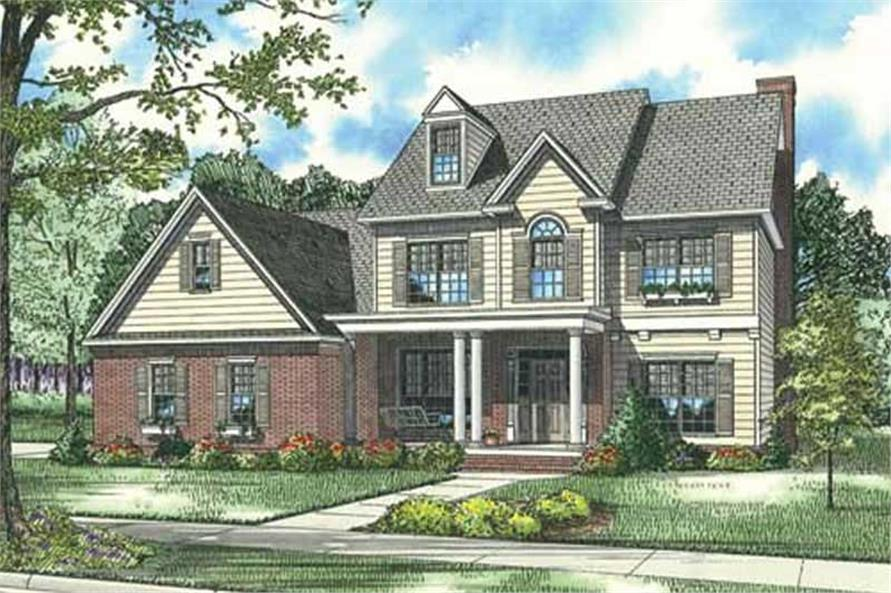 Main image for house plan # 17579