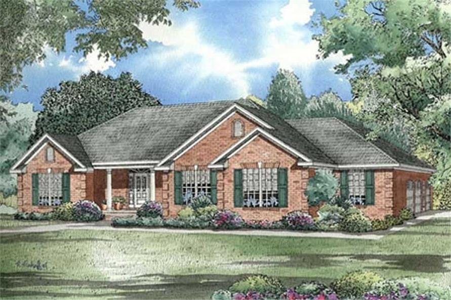 Main image for house plan # 17634