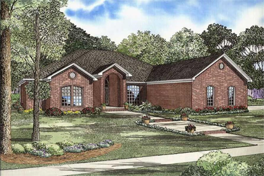 Main image for house plan # 9848