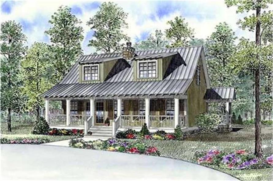 153-1871: Home Plan Rendering