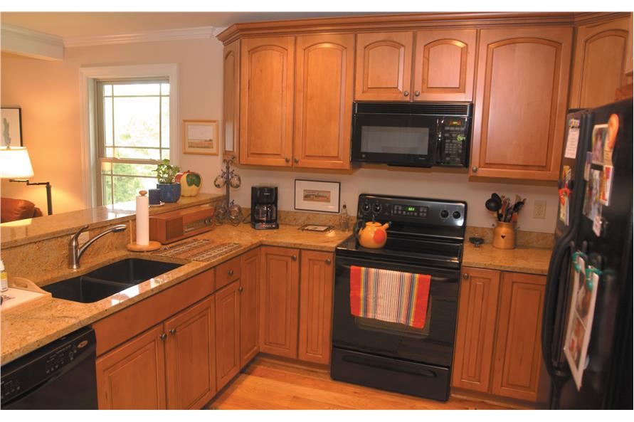 153-1871: Home Interior Photograph-Kitchen
