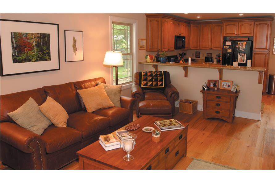 153-1871: Home Interior Photograph-Living Room