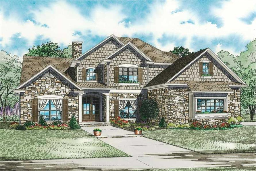 Main image for house plan # 19828