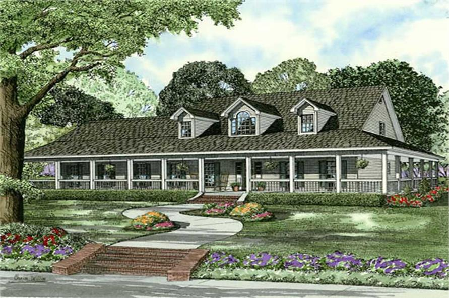 Main image for house plan # 9834