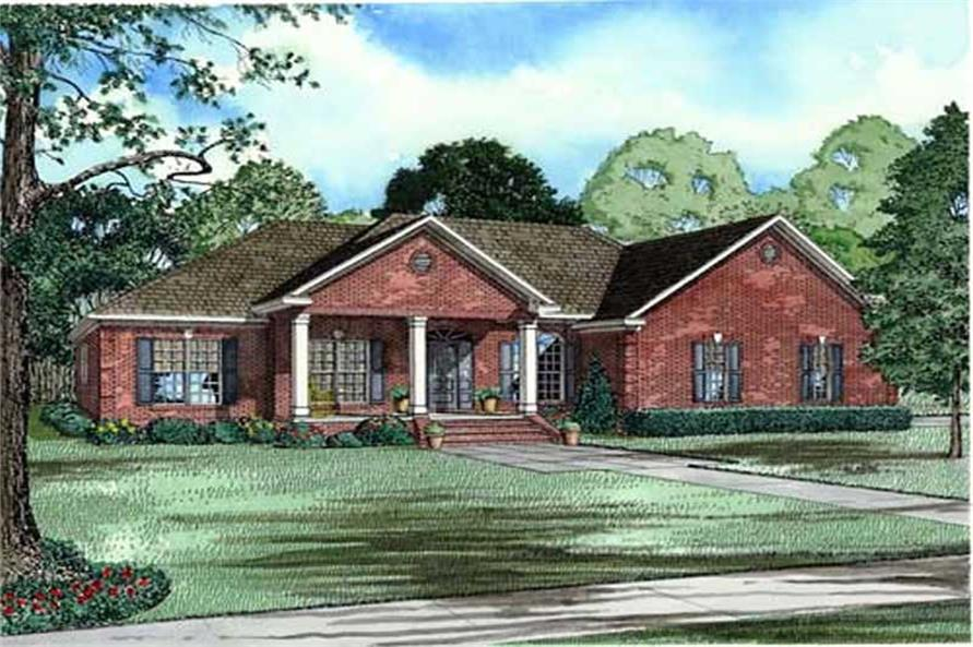 Main image for house plan # 11493