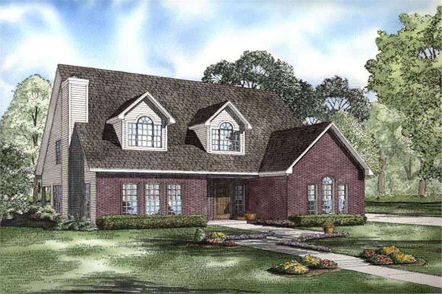 Main image for house plan # 11467