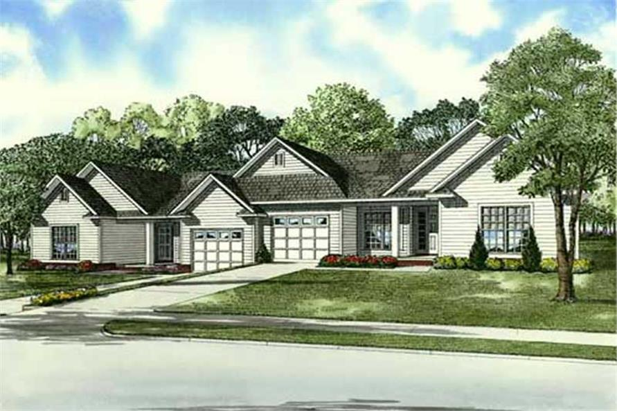 Main image for house plan # 9221