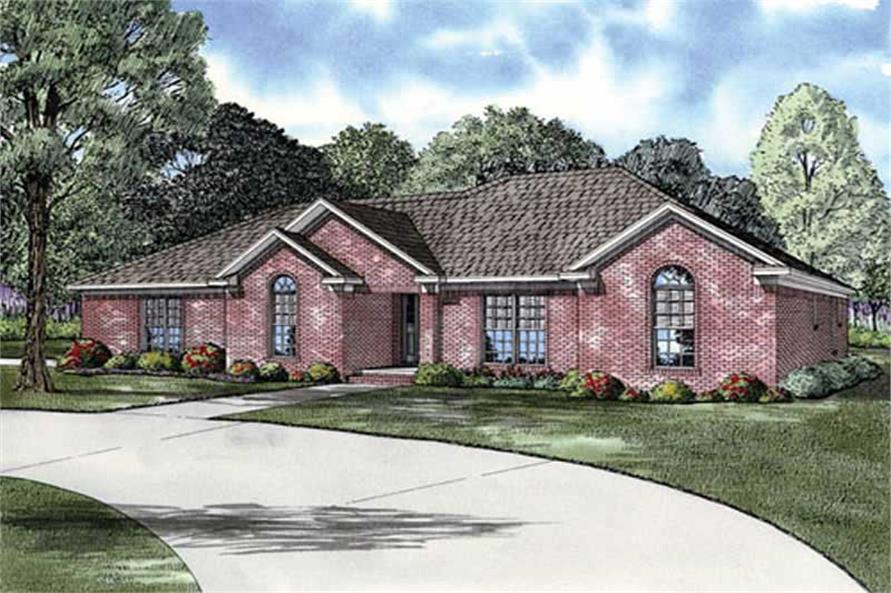 Main image for house plan # 11452