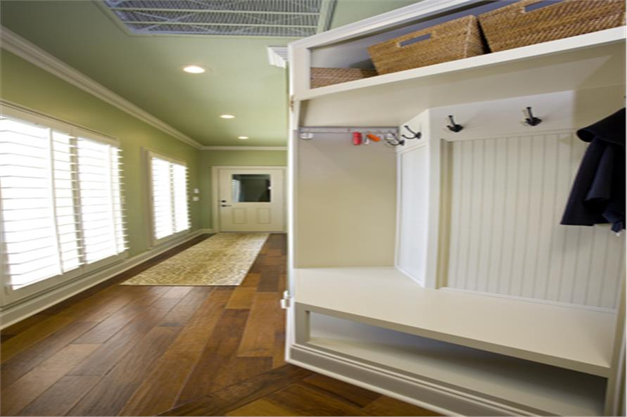 153-1904: Home Interior Photograph- Mud Room - Storage and Closets