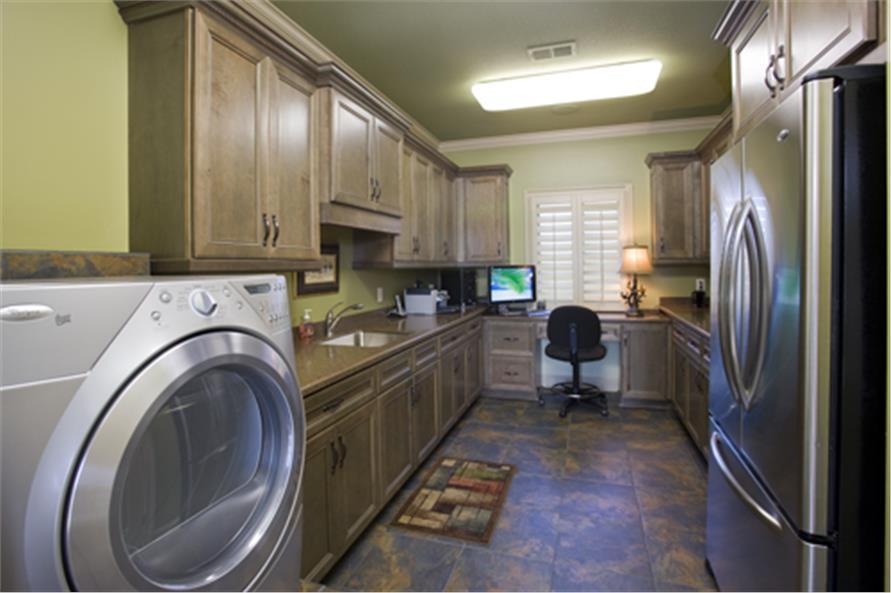 153-1904: Home Interior Photograph-Laundry Room