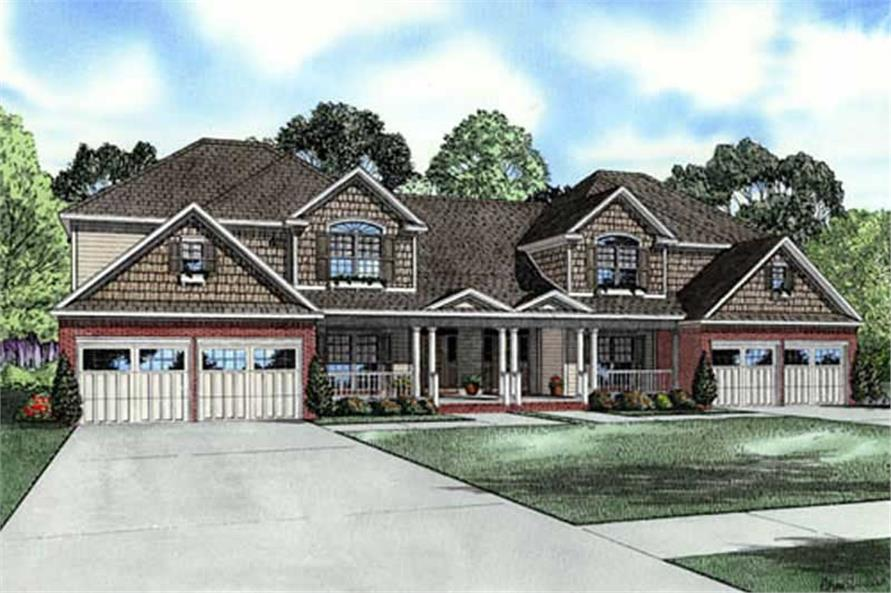 Main image for house plan # 9239