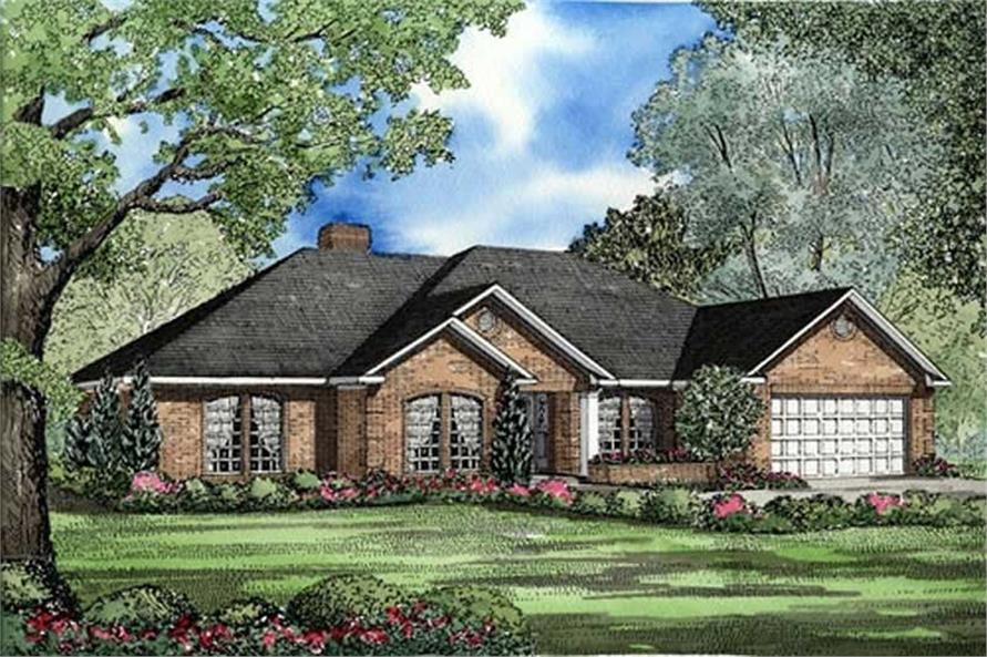 Main image for house plan # 17629