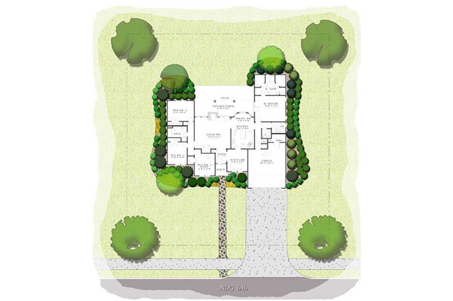 NDG-190-1 HOUSE PLAN