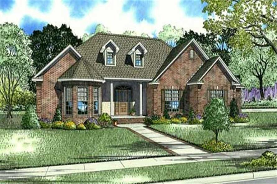 Main image for house plan # 16883