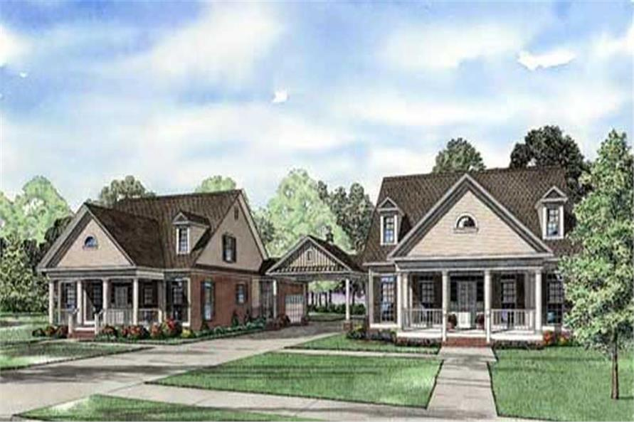 Main image for house plan # 11479