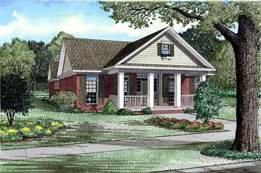 Main image for house plan # 11514