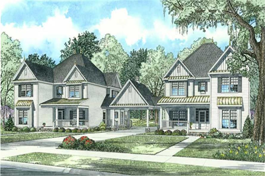 Main image for house plan # 11454