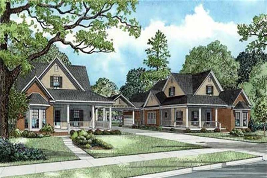 Main image for house plan # 11478