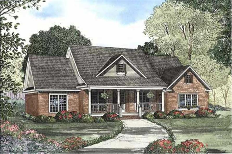 Main image for house plan # 11461