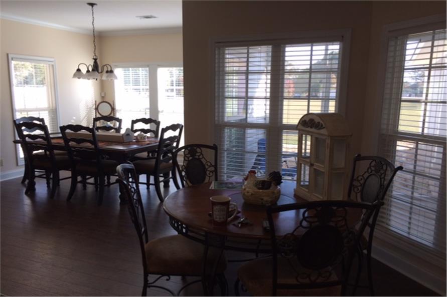 Kitchen: Breakfast Nook of this 4-Bedroom,2180 Sq Ft Plan -2180