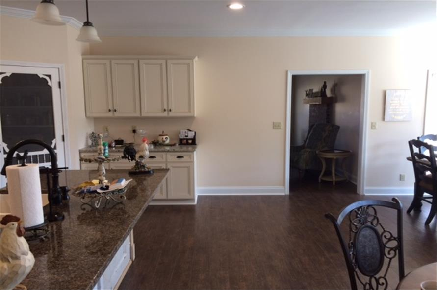 Kitchen of this 4-Bedroom,2180 Sq Ft Plan -2180
