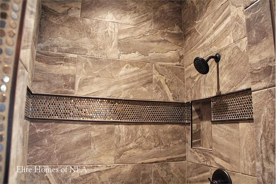 153-1990: Home Interior Photograph-Bathroom - Shower