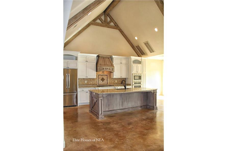 153-1990: Home Interior Photograph-Kitchen